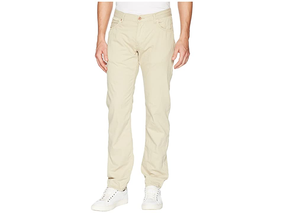 Billy Reid Slim Jeans in Khaki (Khaki) Men's Jeans