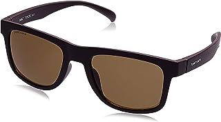 Fastrack UV Protected Wayfarer Men's Sunglasses - (P424BR2|53|Brown Color Lens)