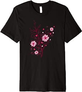 Sakura Cherry Blossoms - Flower Festival in Japan - Tree Premium T-Shirt