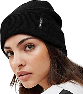 Womens Knit Beanie Hat Acrylic Winter Hats for Women Men...