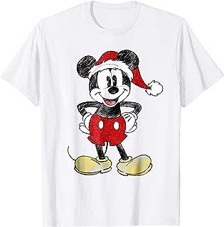 Santa Mickey Mouse Christmas T Shirt