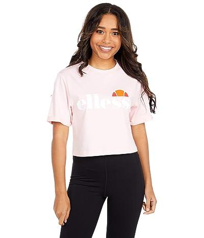 Ellesse Alberta Crop T-Shirt (Light Pink) Women