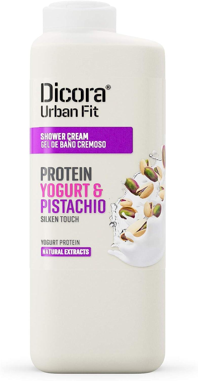 Dicora Urban Fit Gel de Baño Proteins Yogurt & Pistacho 400 ml