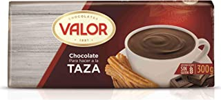 Valor Chocolate a la Taza Bar from Spain (Pack of 2 10.5 oz/300 gr)