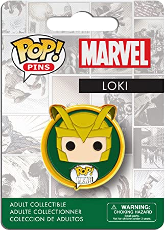 Funko Pop Pins: Marvel Loki Action Figure