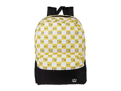 Vans Vans X The Simpsons Check Eyes Backpack ((The Simpsons) Check Eyes) Backpack Bags