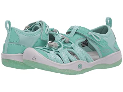 Keen Kids Moxie Sandal (Toddler/Little Kid) (Ocean Wave/Vapor) Girl