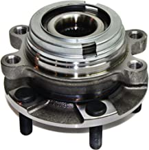 Wheel Hub and Bearing compatible with 2007-2017 Nissan Altima Front Left or Right With ABS Encoder Wheel Studs