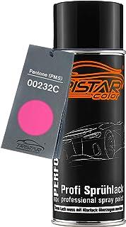 TRISTARcolor Autolack Spraydose für Pantone (PMS) 00232C 232C Pink Basislack Sprühdose 400ml