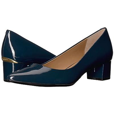 Calvin Klein Genoveva Pump (Deep Navy Glossy Patent) Women