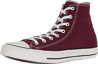 Converse Men's Shoes All Star Chuck Taylor Hi Burgundy Red Fashion Sneakers (11.5 B(M) US Women / 9.5 D(M) US Men)