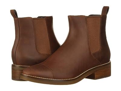 Cole Haan Mara Grand Chelsea Bootie (Harvest Brown Leather WP) Women