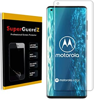 [3-Pack] for Motorola Edge+ Plus Screen Protector [Full Coverage], SuperGuardZ, Edge-to-Edge Protect, Ultra Clear, Militar...