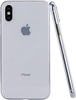 iPhone Xs Max MNML Case (Clear Transparent)