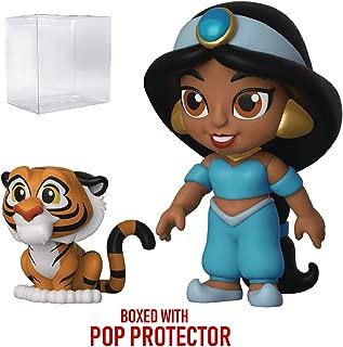 Funko 5 Star Disney: Aladdin - Jasmine with Rajah Action Figure (Includes Pop Box Protector Case)