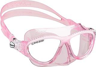 comprar comparacion Cressi Moon Kid Máscara Infantil de Uso Acuático, Niños, Rosa/Blanco, Uni