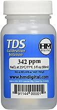 HM Digital C342 TDS and EC Calibration Solution, 342 ppm (NaCl), 90 ml Volume