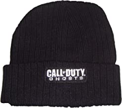 Call of Duty Ghosts Basic Logo Cuff Winter Knit Toque Beanie One Size Black