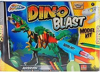 Dinosaurier Dinos Steckbausatz Holz Bastelset Bausatz für Kinder ab 9 Jahren