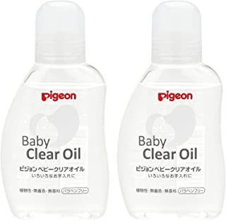 Pigeon 贝亲 婴儿 清洁油 80ml (0月~)×2个装【批量售卖】