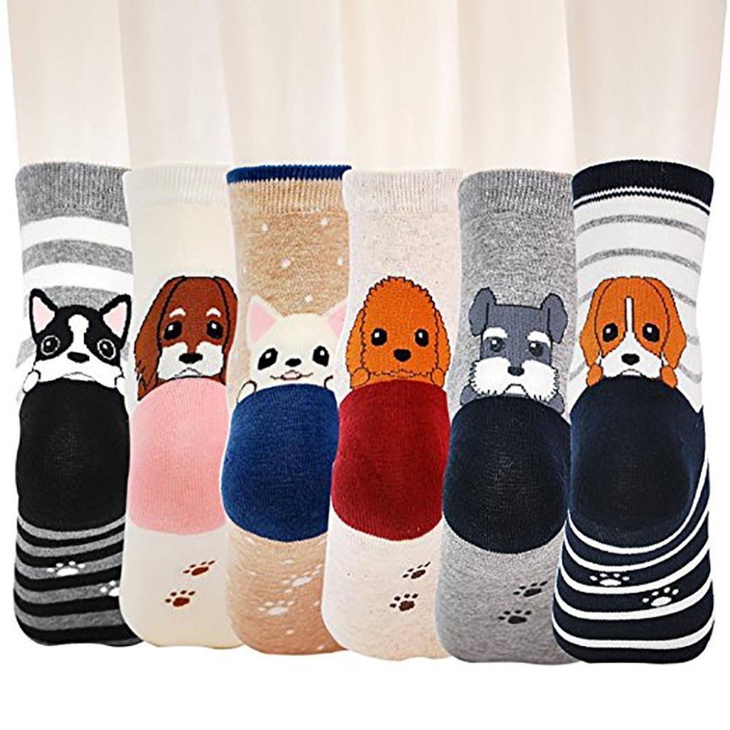 kaifongfu Kids Animal Socks 1 Pairs Baby Boys Girls Knitting Cotton Warm Infant Children Kids Animal Socks