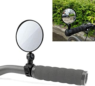 Quality Bicycle Accessories, Universal 360 Rotate Adjustable Bicycle Rearview Handlebar Wide-Angle Convex Mirror Cycling R...