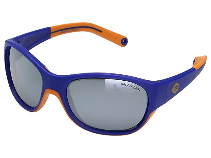 Julbo Eyewear Juniors  Luky Sunglasses (4-6 Year Old Boys) (Blue/Orange) Athletic Performance Sport Sunglasses