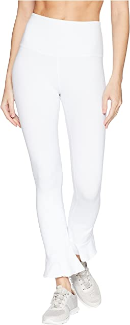 Frill Seeker High-Waist Midi Leggings