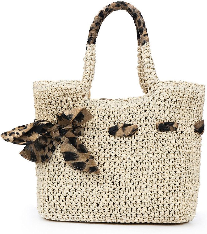 Meaeo Neue Weibliche Beutel Stroh Gewebten Beutel Beutel Beutel Handtasche Strandtasche. Beige B07DRKL99H  Bevorzugte Boutique d27d0d