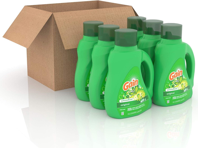 GAIN Gain + Aroma Boost Max 59% OFF Liquid Laundry Super special price L Detergent 25 Original