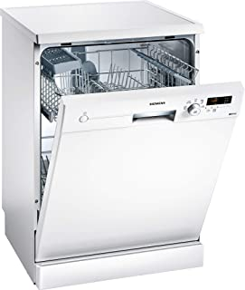 Siemens 5 Programs 12 Place settings Free standing dishwasher, White - SN215W10BM