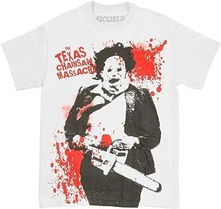 Texas Chainsaw Massacre Men's Spatter Subway T-Shirt Vintage