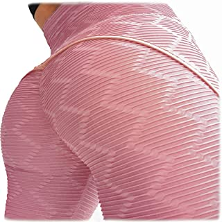 YOFIT Women Ruched Butt Lift Yoga Pants Leggings High Waist Tummy Control Tights