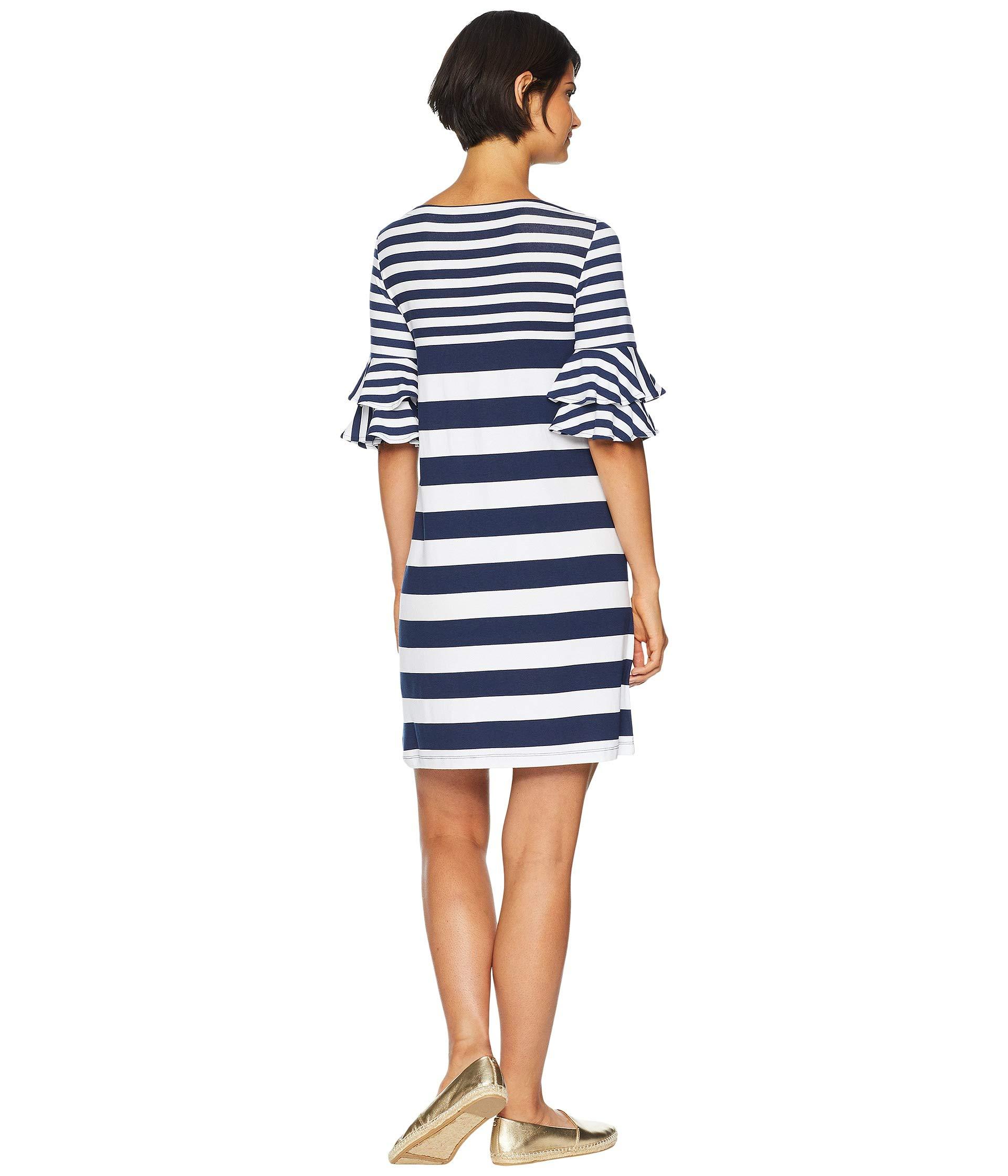 True Safari Dress Navy Lilly Up Eng Pulitzer Lula Stripe Pop wtqWF4