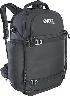 Evoc CP 35L Outdoor - Mochila para cámara de fotos profesional (acolchada, sistema de transporte ergonómico, sistema de correas para cañas de hielo, esquí, snowboard o trípode), color negro
