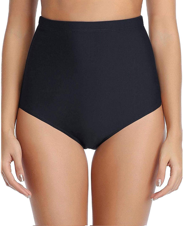 FORUU Swimsuit Bottom for Women 2021 Summer High Waisted Bikini Bottom Plus Size Swim Shorts Cute Bathing Suit Bottoms