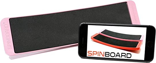 SPINBOARD - Turning Board for All Dancers - A Must for Ballet Training, Practice Pirouetts, Turns and Spins. Center your Core and Improve your Balance. Includes Free Instructional Videos.