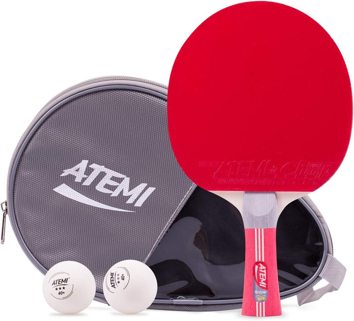 Atemi Sniper 5-Star 5 2021 new popular Table Tennis Set 3-Piece Bat 5-Pl Bundle