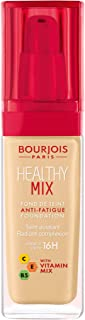 difference between bourjois healthy mix foundation and serum