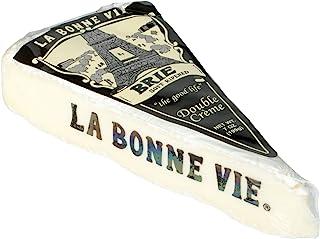 LA BONNE VIE Brie Wedge Double Creme, 7 oz