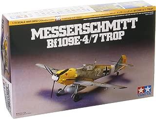 Tamiya 60755 Messerschmitt Bf109e-4/7 Trop - 1:72 Scale Aircraft