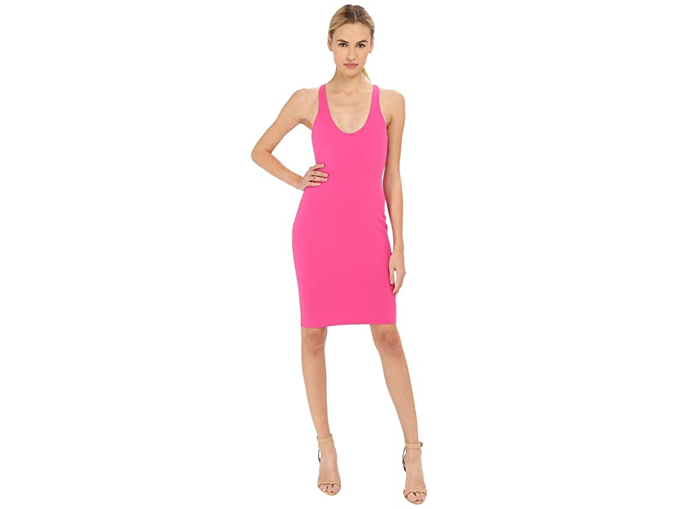 DSQUARED2 Compact Jersey Dress (Fuchsia) Women
