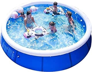 niyokki Family Inflatable Swimming Pools Above Ground, Portable Outdoor Backyard Easy Set Blow Up Pools for Kids and Adult...