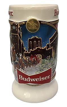 2020 Budweiser Holiday Stein - Brewery Lights
