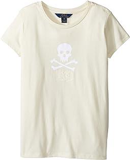 Enzyme Jersey Short Sleeve Graphic Tee (Little Kids/Big Kids)