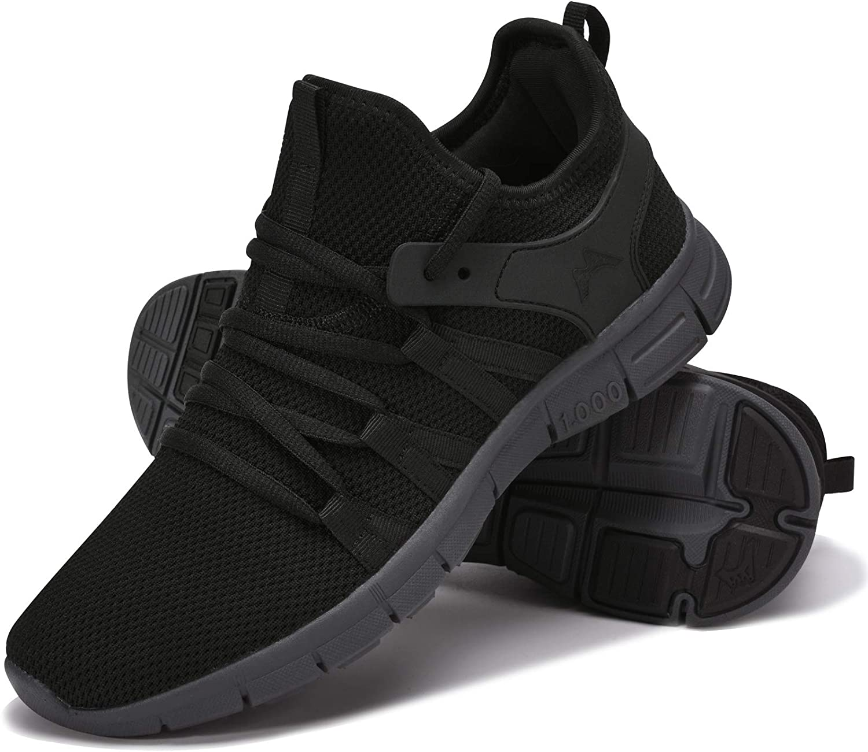 INZCOU Running Shoes Lightweight Tennis Shoes Non Slip Resistant