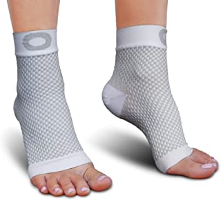 Plantar Fasciitis Socks with Arch Support for Men & Women - Best Ankle Compression Socks for Foot and Heel Pain Relief - B...