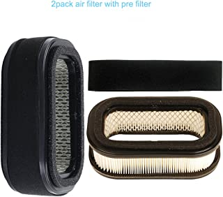 SaferCCTV Replacement (Pack of 2) Air Filter Pre Filter for Kawasaki FD620D FD661D 4 Stroke Engine, 20 and 22 HP Twin Cylinder Engines, John Deere 2500 2500A 2500B 2500E 425 445