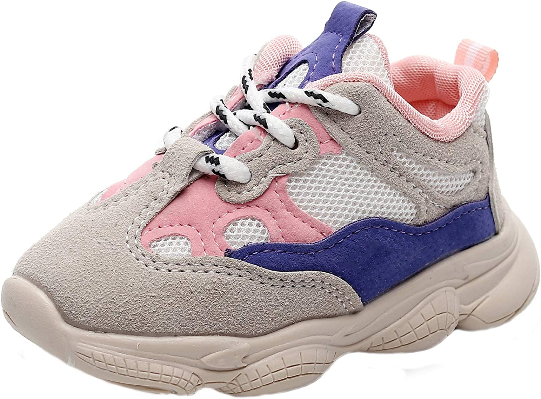 HONGTEYA Baby Boys Girls Same day shipping San Antonio Mall Sneakers - Running Casual Lightweight S