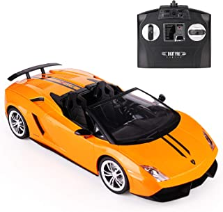 dti direct, Licensed Lamborghini LP570 (Ragtop) 1:14 RC car with 2.4GHz Remote (Yellow)